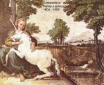 Obraz panny ajednorožce od Domenichina