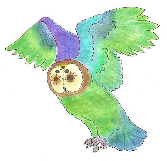Papouškovec pestrý